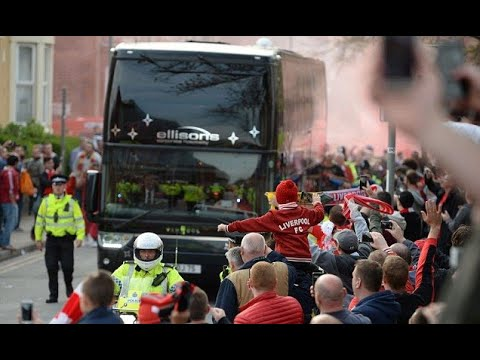 Police warn Liverpool fans with flares vs Man City could face prison