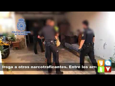 Detenidos seis miembros de un grupo dedicado a robar droga de alijos de  otras organizaciones