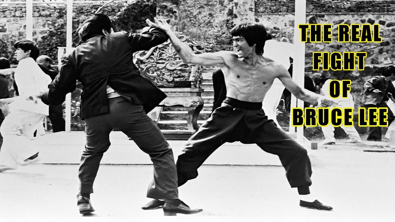 The Real Fight of Bruce Lee Story | Bruce Lee - YouTube