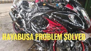 Finally hayabusa problem solved #hayabusa #superbike