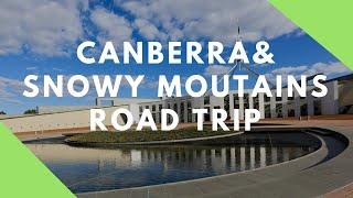 2 Days Roadtrip to Canberra & Snowy Mountains   Interesting Facts   Vlogging Thursday   Parimiti