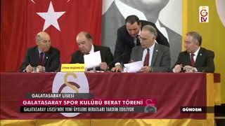 Gündem | Galatasaray Spor Kulübü Berat Töreni (06 Ocak 2018)