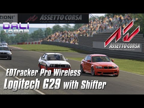 7c0eb4fda44 Assetto Corsa - Logitech G29 + Shifter + EDTracker Pro Wireless (Wheel Cam)  - YouTube