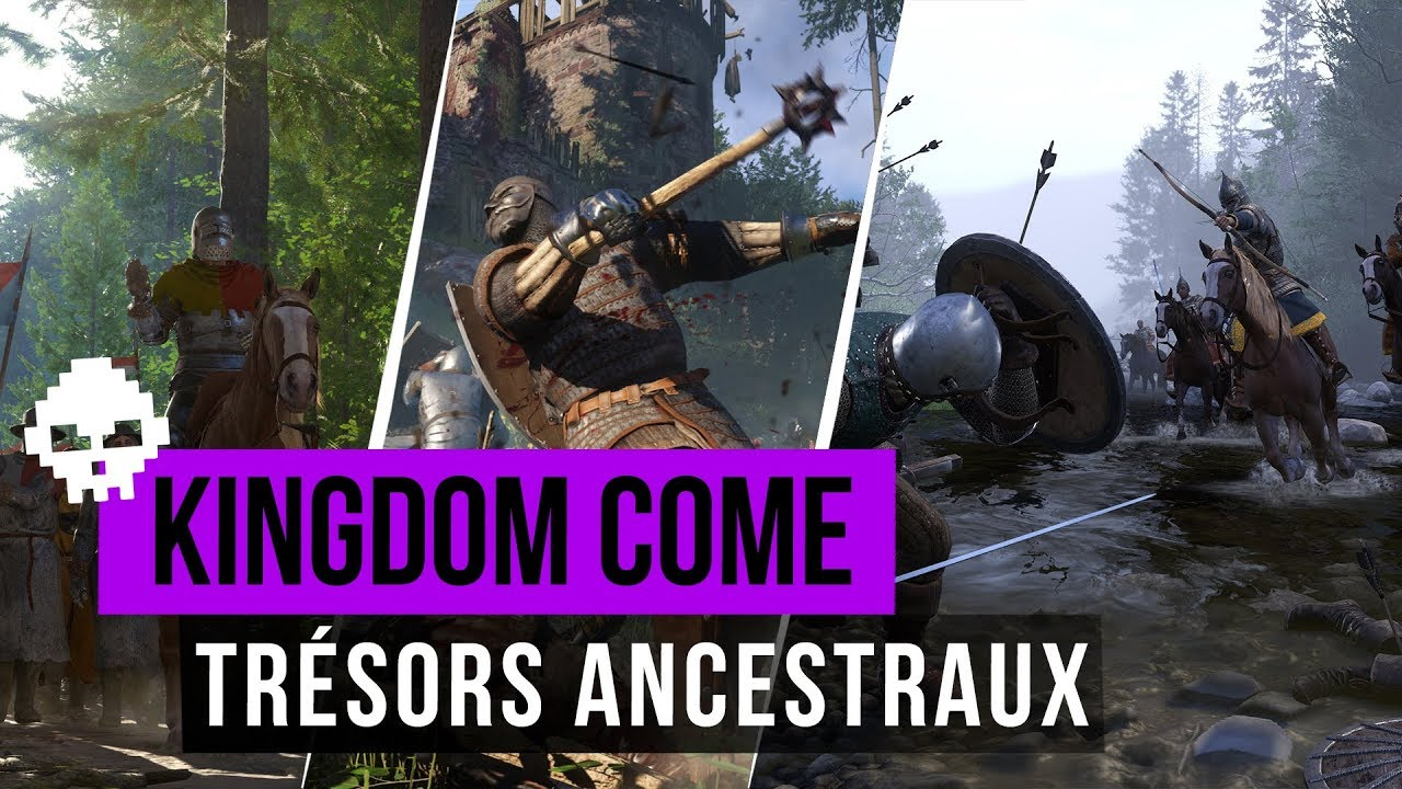 Carte Au Tresor 3 Kingdom Come.Guide Kingdom Come Deliverance Toutes Les Cartes Au Tresor