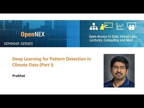 Part 1: Deep Learning for Pattern Detection in Climate Data