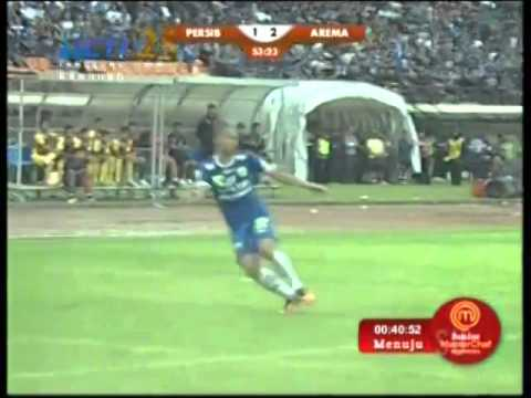 Persib Bandung Vs Arema 3-2 All Goals FULL MATCH HIGHLIGHT - 13 April 2014