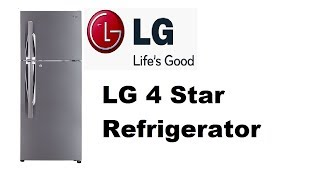 LG 4 Star Double Door Refrigerator Review With Price