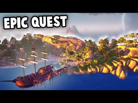 EPIC Adventure Quest – Sea of Thieves Multiplayer Closed Beta Gameplay