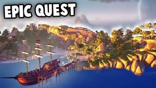 EPIC Adventure Quest - Sea of Thieves Multiplayer Closed Beta Gameplay