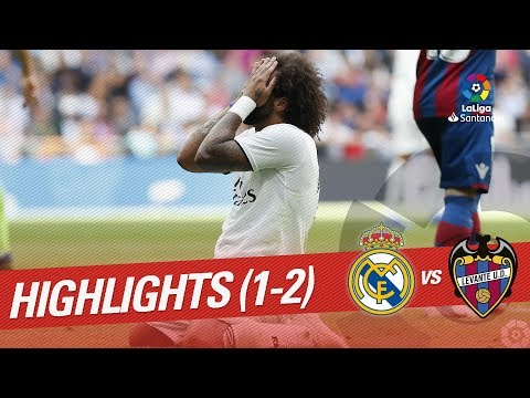 Resumen de Real Madrid vs Levante UD (1-2)