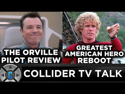 The Orville Pilot Review, Greatest American Hero Reboot - Collider TV Talk