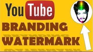 {HINDI} Branding watermark youtube || add watermark to youtube video || transparent image || video