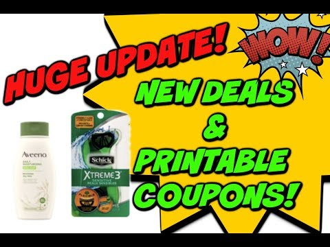 HUGE DEAL UDPATES 👀 | HOT PRINTABLE COUPONS & DEALS!