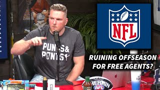 Pat McAfee On How Coronavirus Has Impacted NFL Free Agents