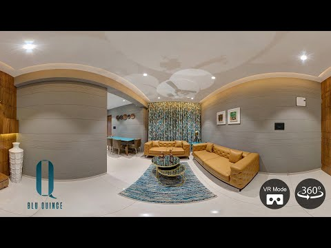 360 Degree Video Of Blu Quince 3bhk Residential Apartment Surat Youtube