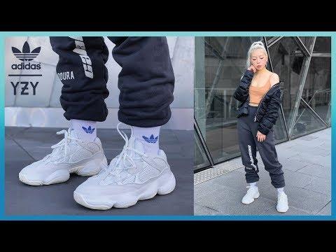 quality design de901 3ed08 YEEZY 500 BONE WHITE Review + BLUSH Comparison + On Feet ...