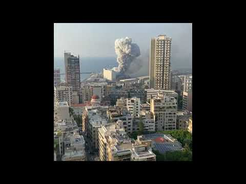 Compilation Beirut Exploded Footage Video and Picture From Social Media Sharing #prayforlebanon