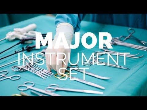 Major Abdominal Instrument Set