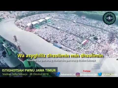 Sholawat Asyghil Dholimin Di Istighosah Terbesar
