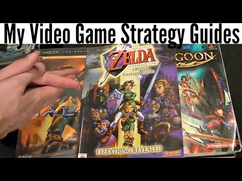 My Video Game Strategy Guides