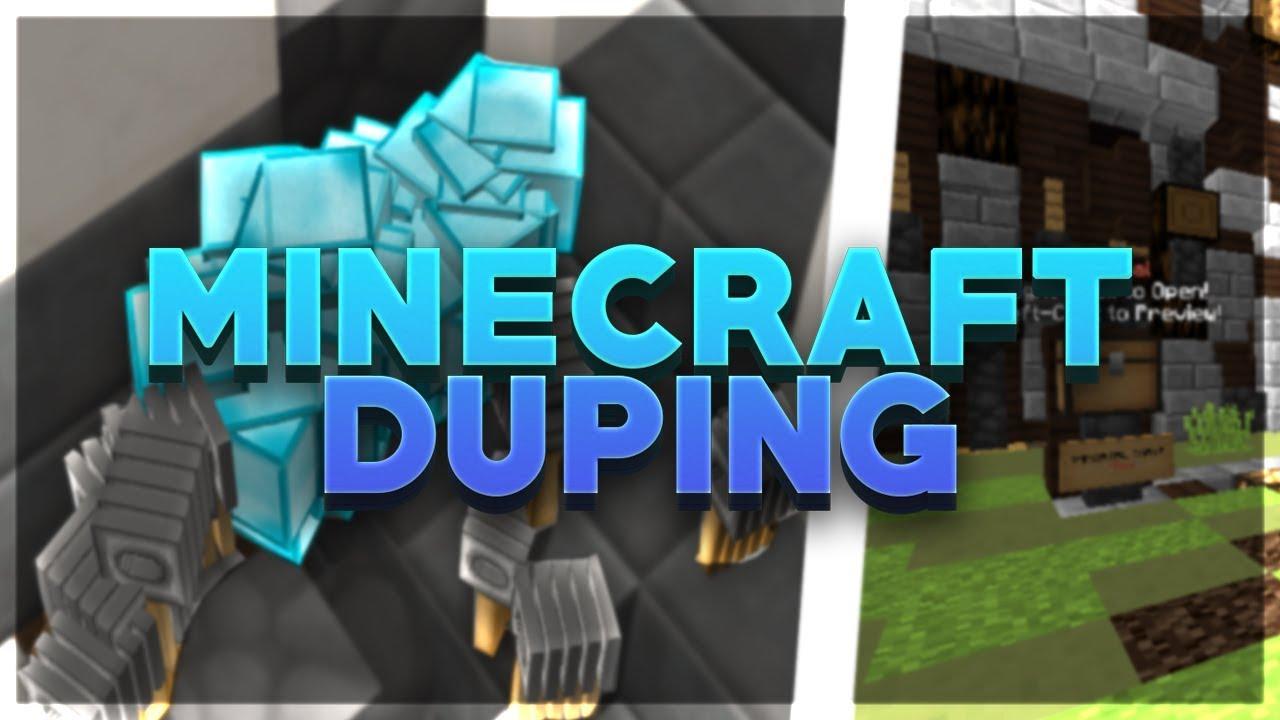 duping glitch on minecraft - cinemapichollu