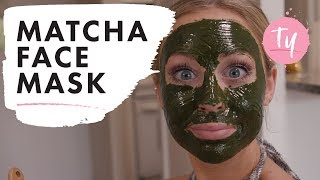 """""""I Did a Matcha Face Mask"""" 