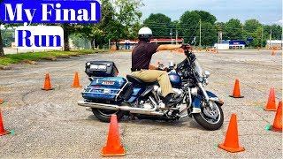 Riding the Motorcycle Course/Motor Officer Version/ My Final Run