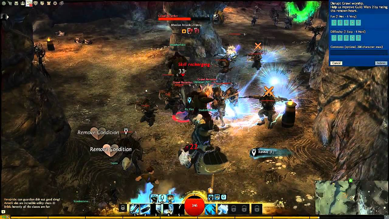 Guild Wars 2 Guardian Gameplay | The Healthy Gamer