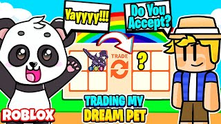 I Offered My DREAM PET in This Trade! Shadow Dragon Dream Pet! Roblox Adopt Me