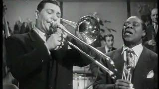 Jack Teagarden mit Louis Armstrongs All Stars / Basin Street Blues / 1951