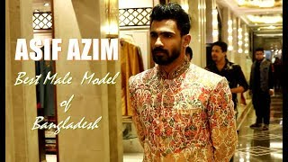 Model Asif Azim Exclusive Photoshoot Behind the Screen at Prem's Collections