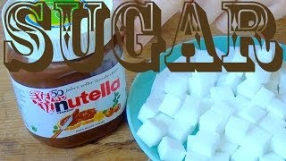 How much sugar is in Nutella? Sugar Cubes!