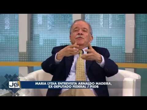 Maria Lydia entrevista Arnaldo Madeira, ex-deputado federal/PSDB