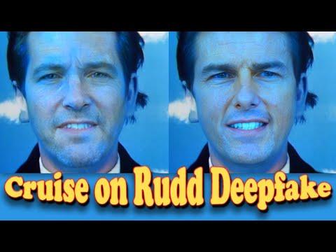 Tom Cruise on Paul Rudd Deepfake - Music Video Sledgehammer