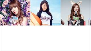 Twice Tzuyu,AOA Seolhyun and EXID Hani -To My Boyfriend (Color Coded Lyrics) Eng|Rom|Han
