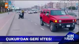 Emrah Amir ve Trafik Polisi Sahnesi ATV HABERE ÇIKTI