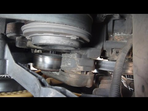 F250 6.4 diesel serpentine belt and tensioner replacement
