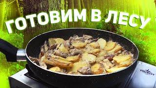 Готовили такое в ЛЕСУ Простой рецепт сытного блюда из картошки