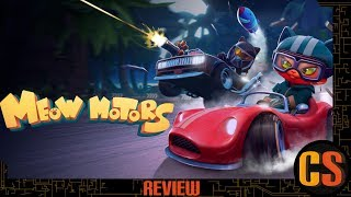 MEOW MOTORS - PS4 REVIEW (Video Game Video Review)