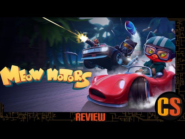 MEOW MOTORS - PS4 REVIEW