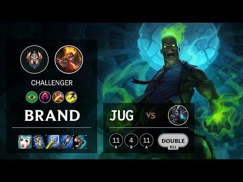 Brand Jungle Vs Ekko - BR Challenger Patch 10.6