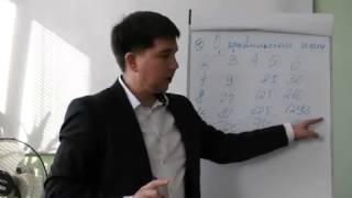 Эдуард Васильев 1 урок на салфетках