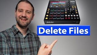 MPC One - H๐w To Delete Projects and Files