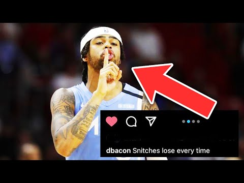 DWAYNE BACON Called D'ANGELO RUSSELL A SNITCH ON IG After HUGE COMEBACK WIN (FT. Trash Talk, Magic)