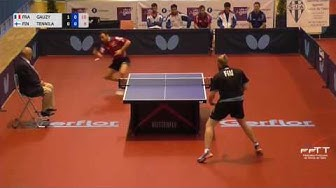 Simon Gauzy vs Otto Tennilä, France - Finlande