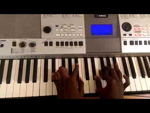 I have no other God but you by Nathaniel Bassey,  piano chords (+233209899650)