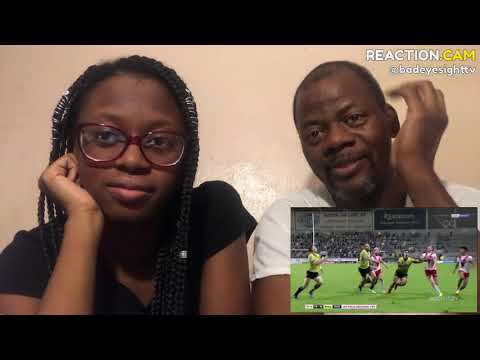 Rugby - Impossible Tries HD (With Commentary) Reaction