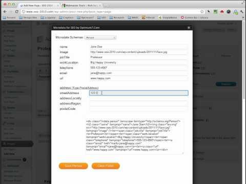 Microdata Wordpress SEO Plug-in by Optimum7.Com