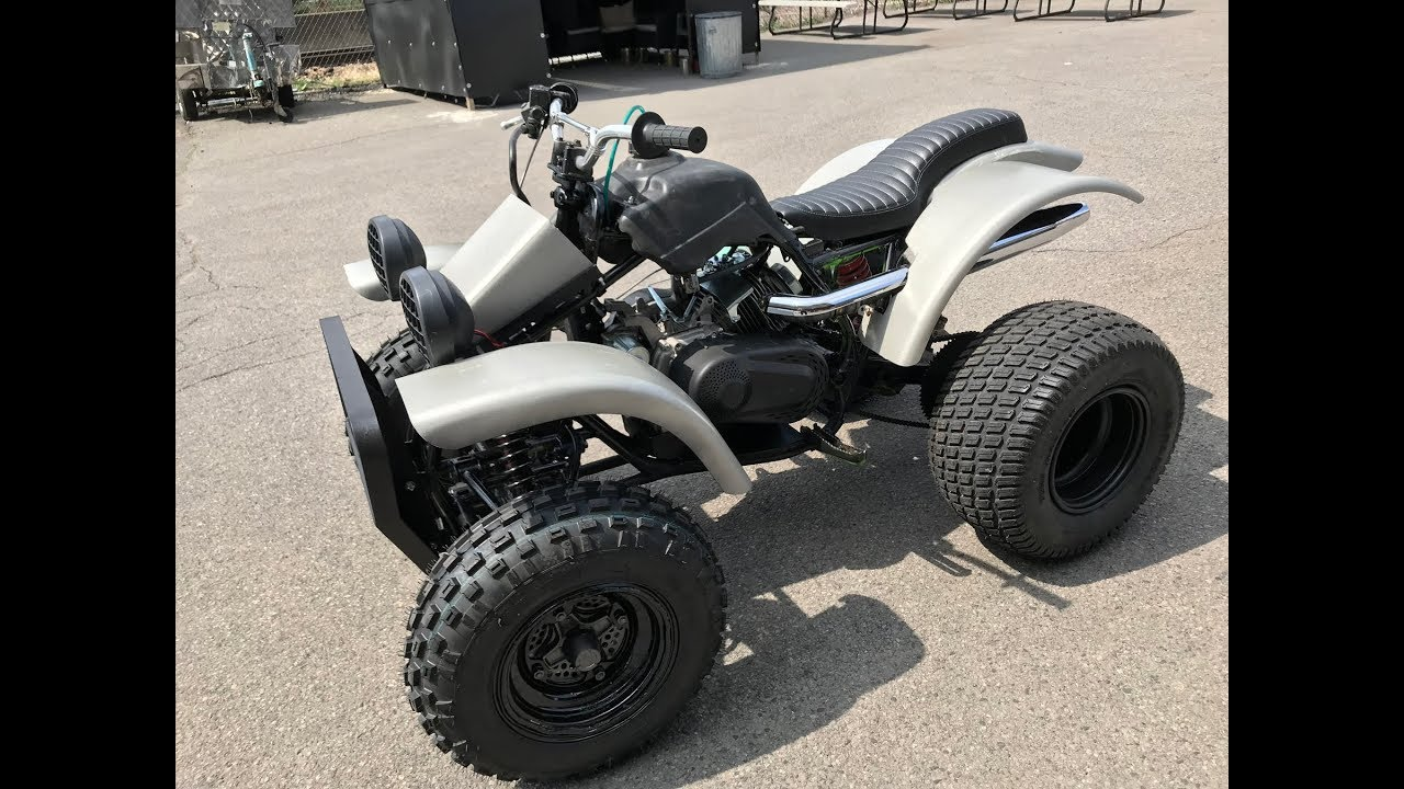 Kawasaki Mojave Quad 420cc Predator Swap Full Custom ATV