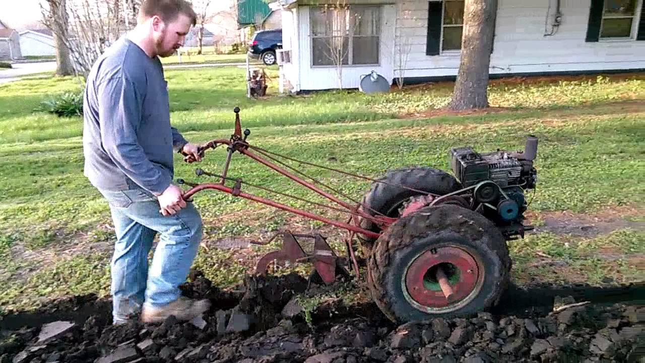 Repeat Hezekiah plowing with a David Bradley by Brian Dotson